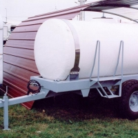 2000 liters tank for trailering