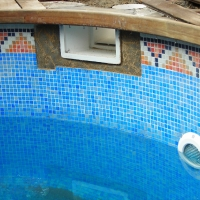 Pool finished in Gresite