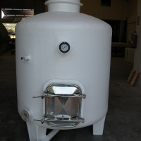 3.000 liters vertical tank for wine