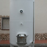 4.000 liters vertical tank for wine