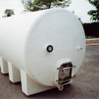 6.000 liters horitzontal tank for wine