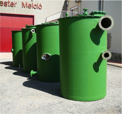 Reactor tank for Portugal