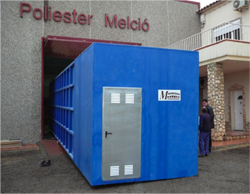 Compact purification plant for Romania (70.000 liters)